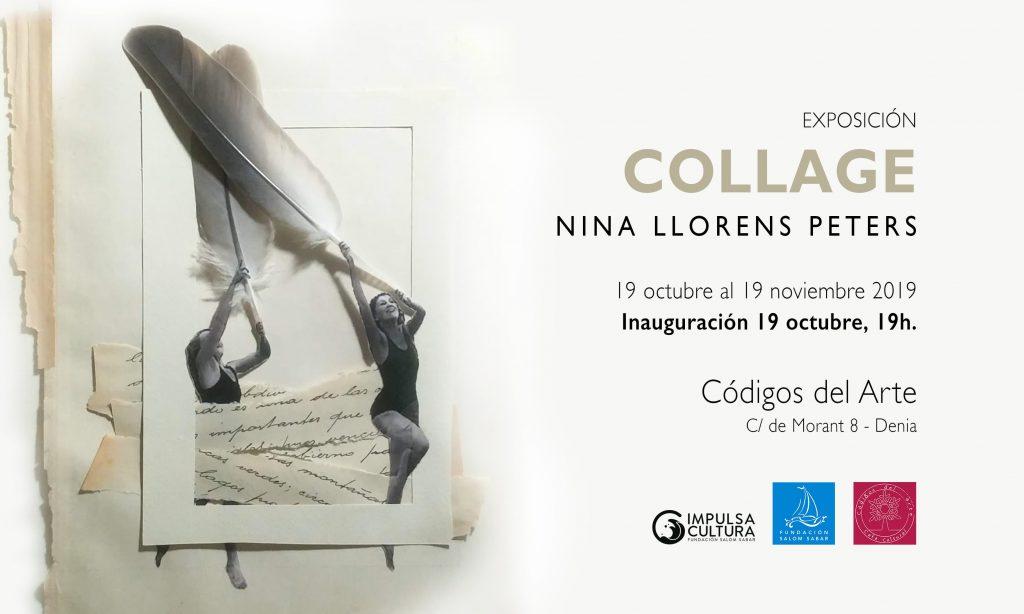 Cartel exposición Nina Llorens